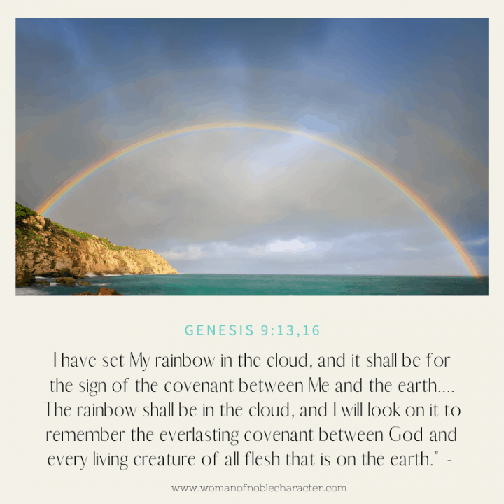 colors in the Bible, red: Genesis 9