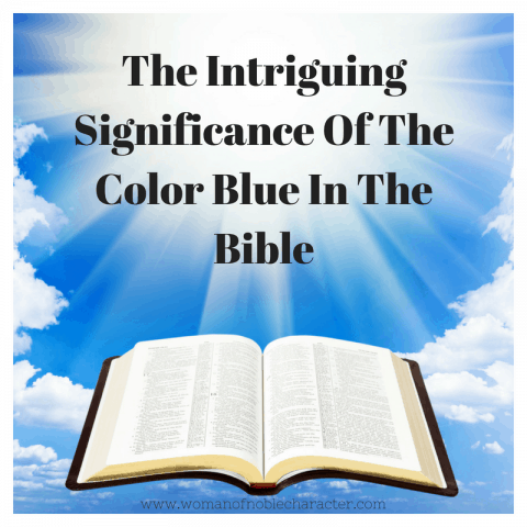 Symbolism of Blue in the Bible