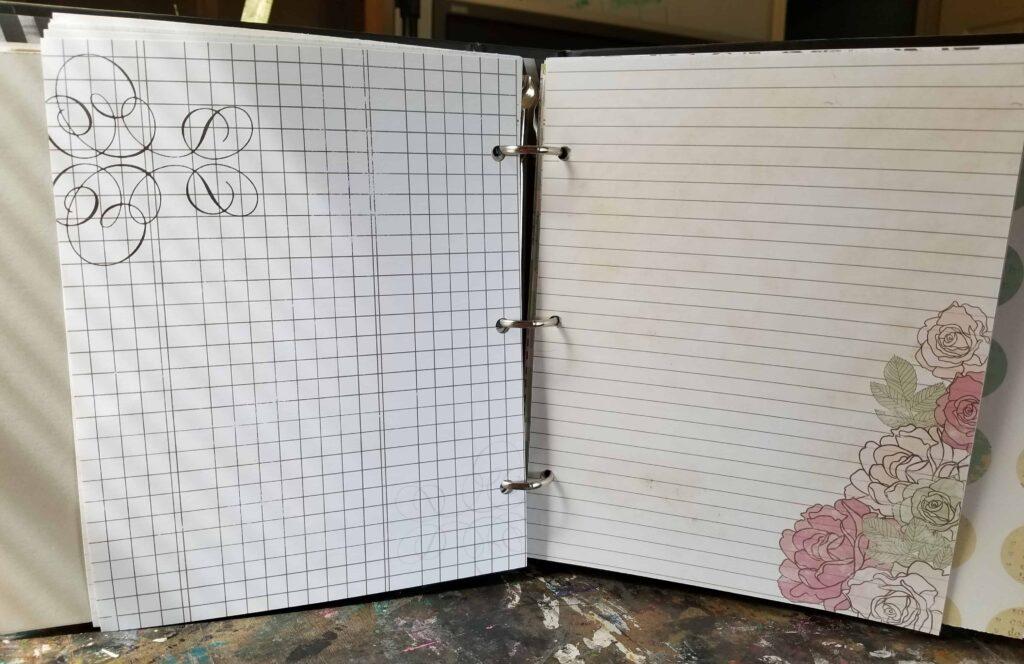 War binder - insert pages