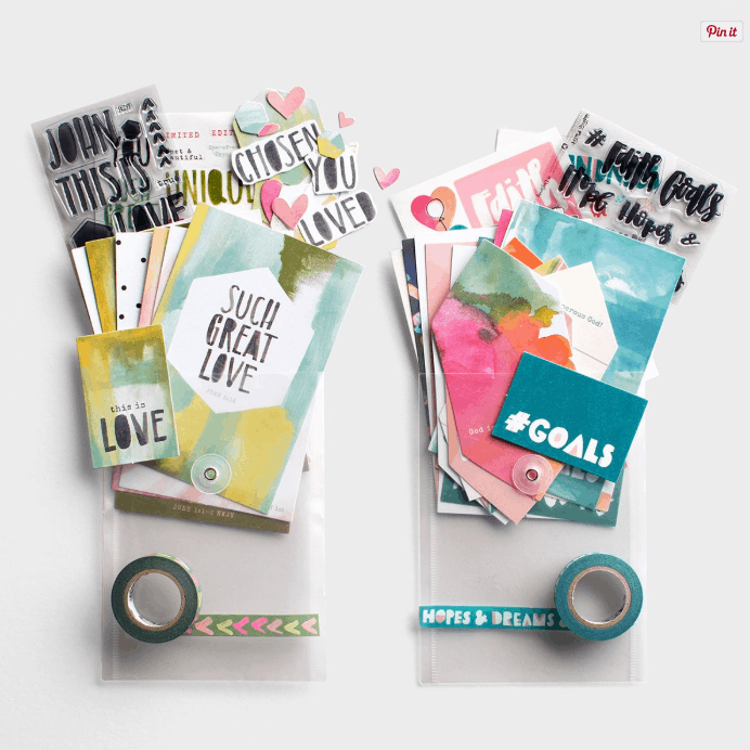 illustrated faith goals and this is love combo kit
