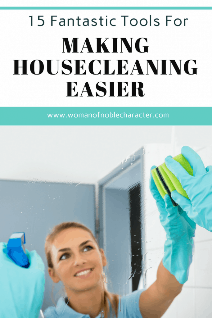tools for making housecleaning easier