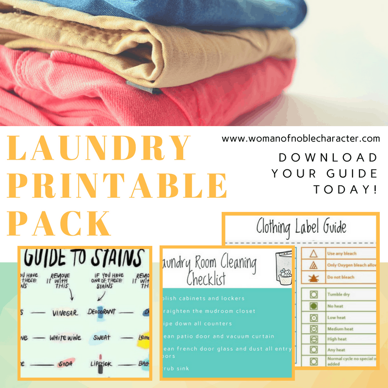 Laundry Printable Pack