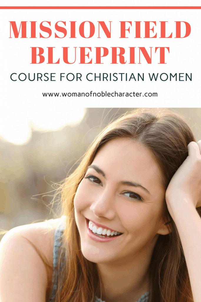 mission field blueprint Proverbs 31 wife