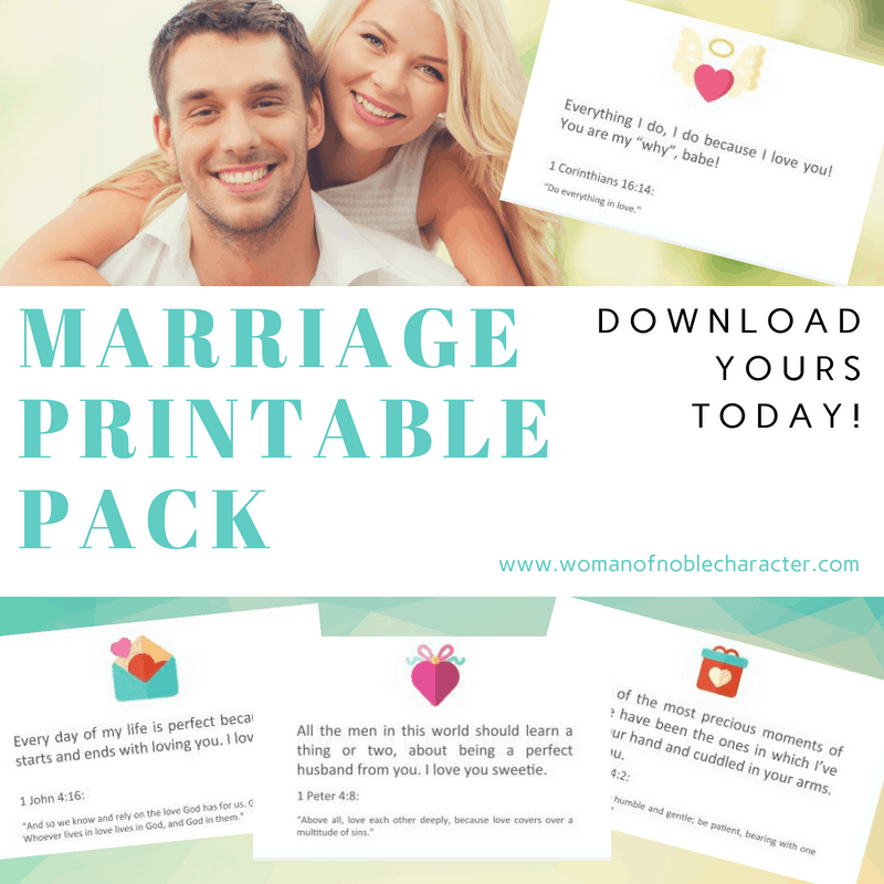 Marriage Printable Pack