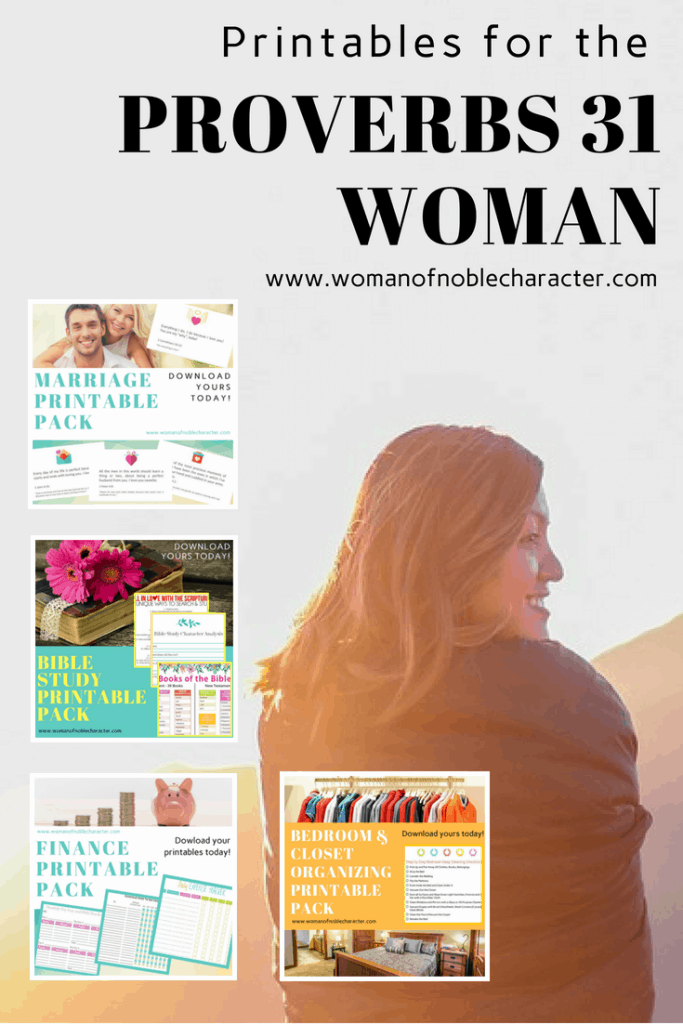 Printables Printables for the Proverbs 31 Woman