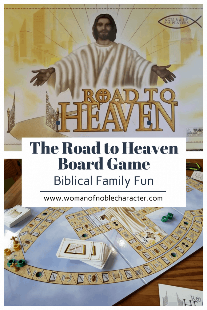 The Road to Heaven board game