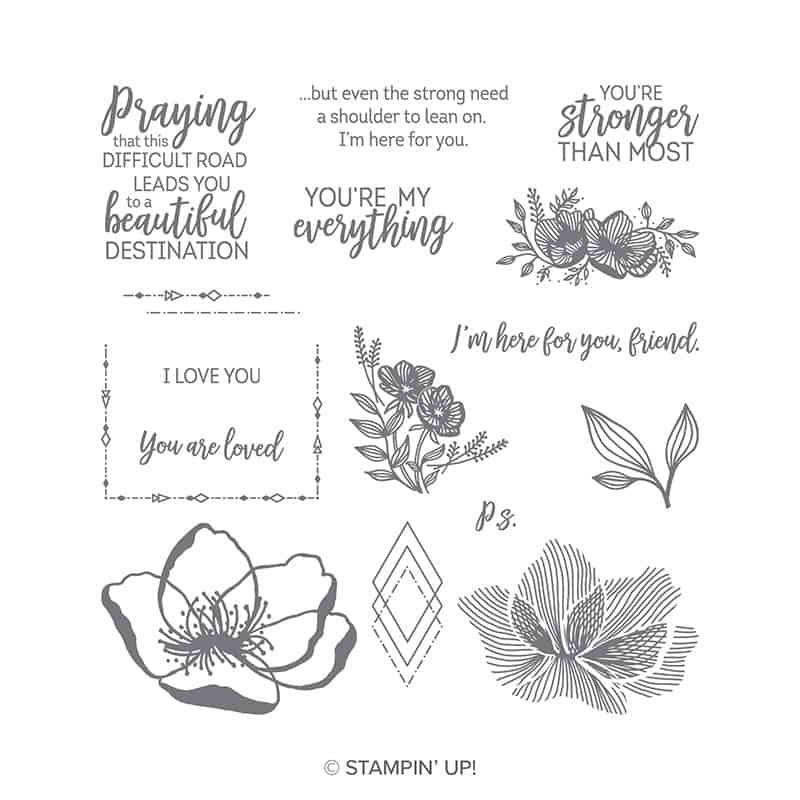 beautiful promenade stampin up