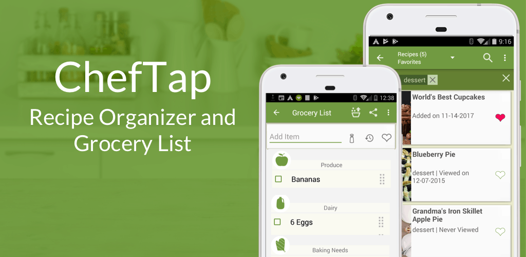 cheftap grocery apps