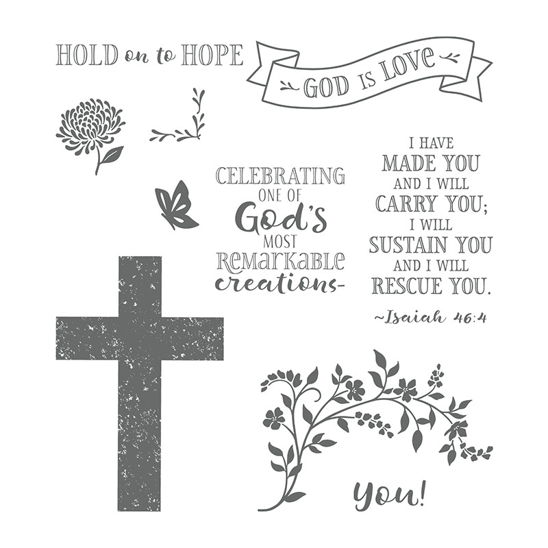 hold on to hope Stampin' Up!