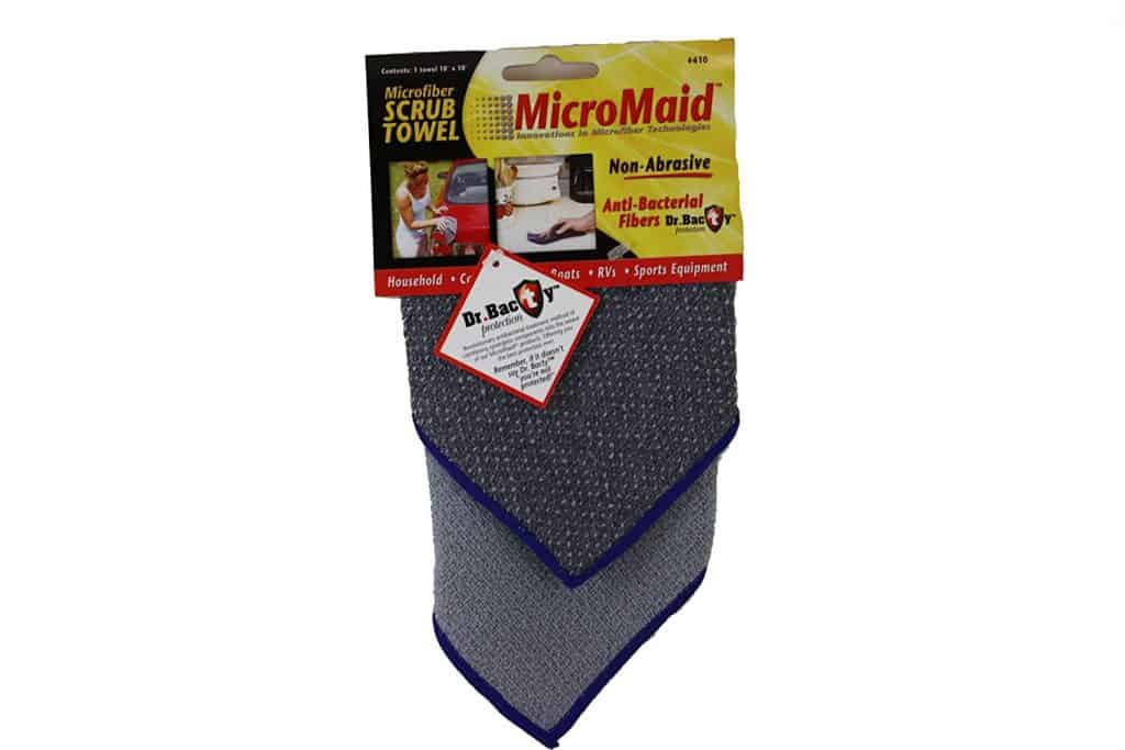 scrub towel microfiber tools for making housecleaning easier