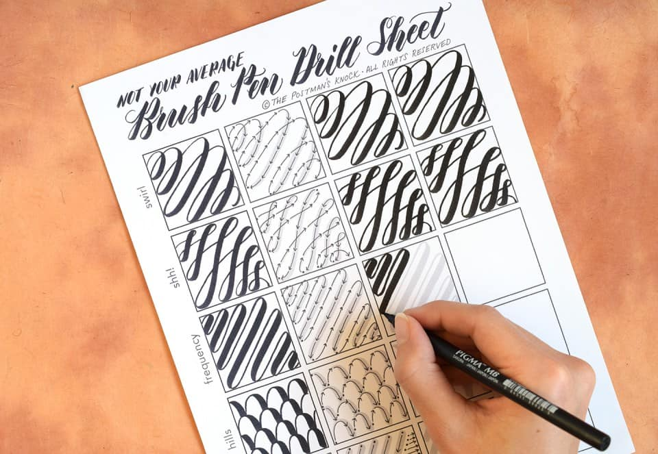 Free Resources for Hand Lettering