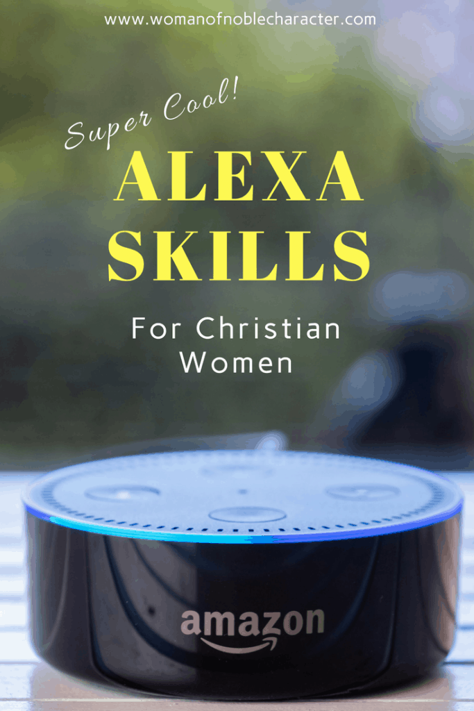 alexa skills for Christian women