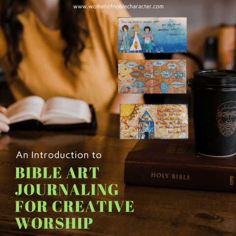 BIBLE ART JOURNALING FOR CREATIVE WORSHIP