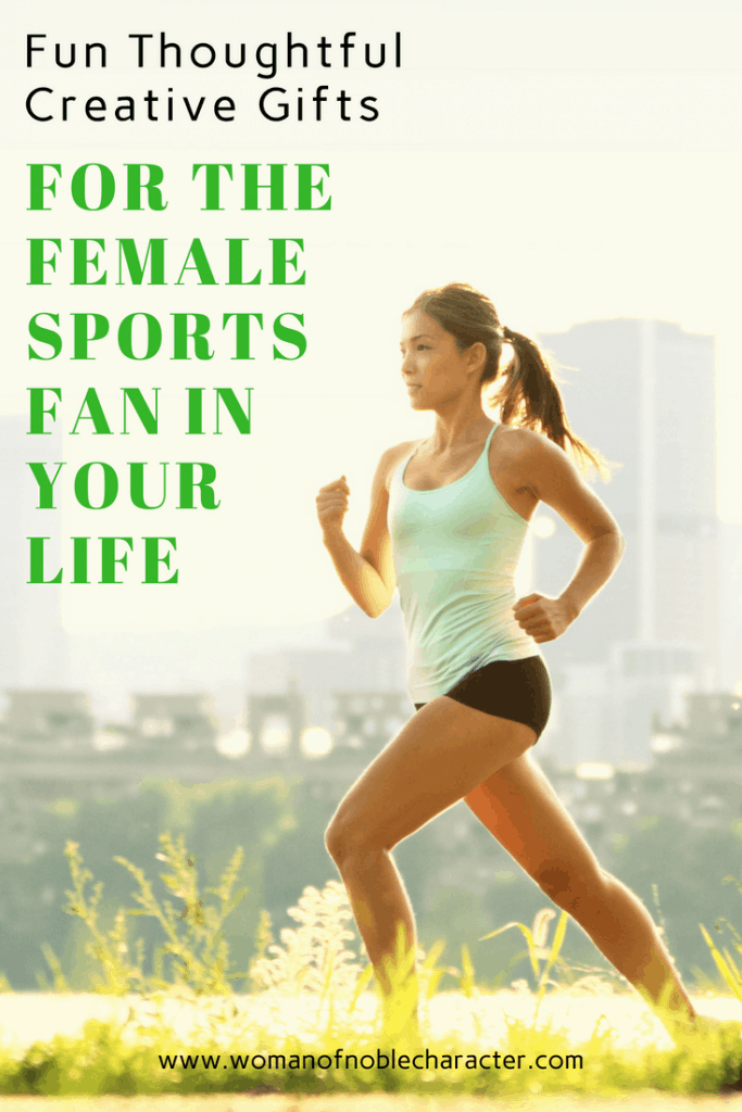 gifts for the female sports fan