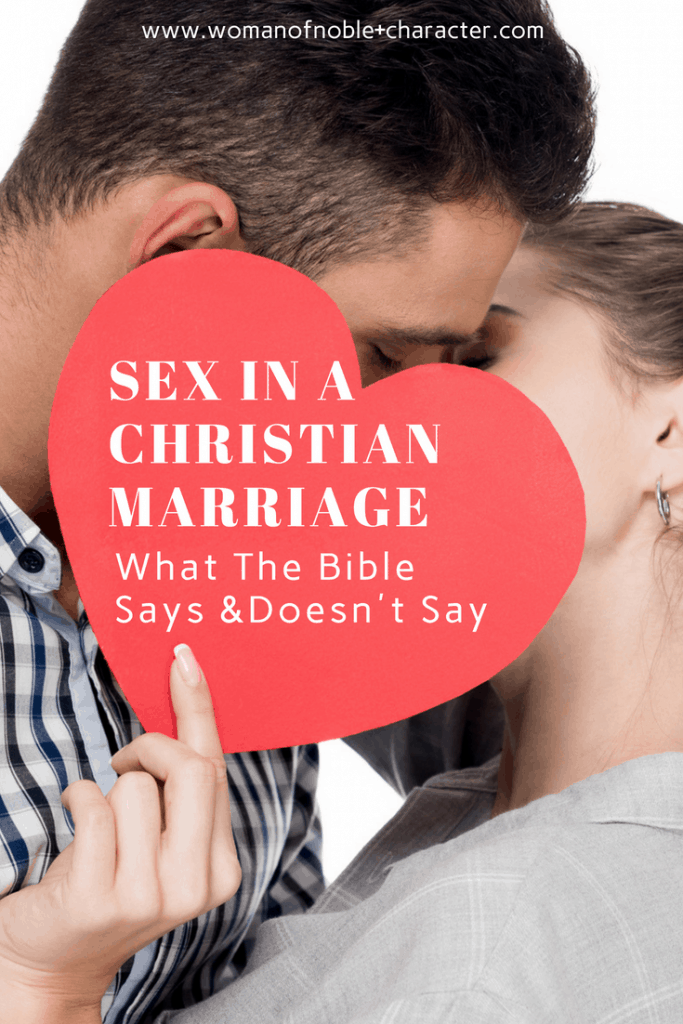 sex in a Christian marriage