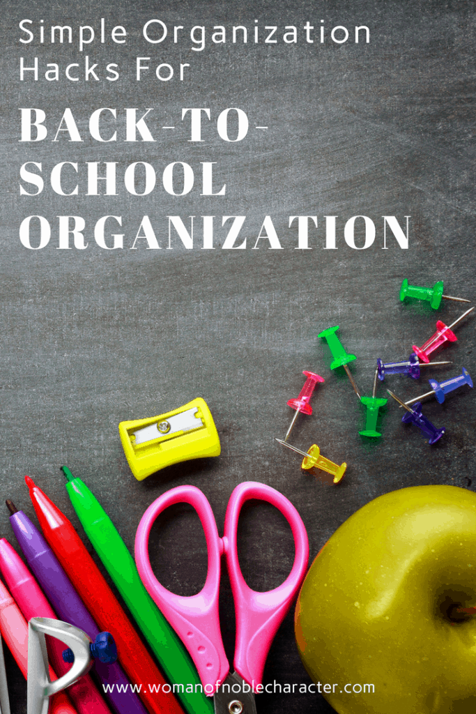 back-to-school organization