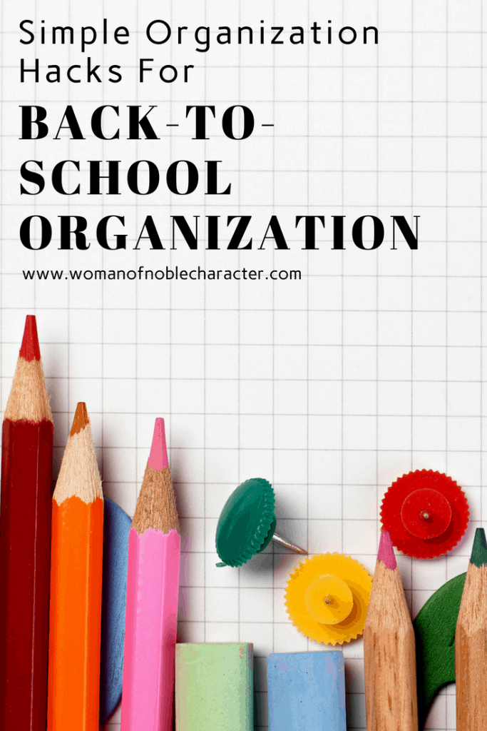 Back to school organization tips and tricks - Back to school organization ...
