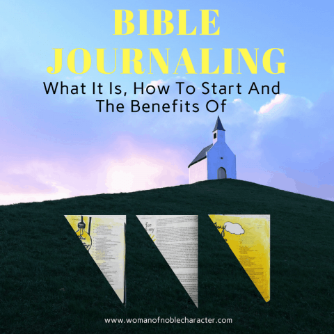 New to Bible journaling? We're discussing what it is, how to get started, suggested supplies and the benefits of Bible journaling, plus sample pages.