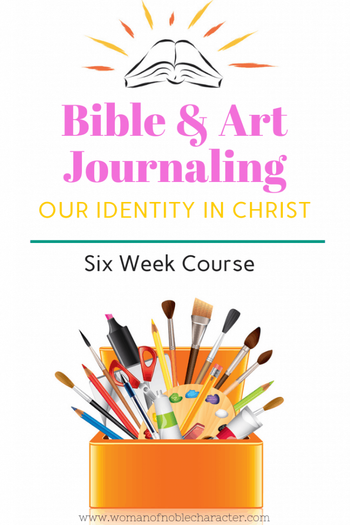 Bible journaling art journaling