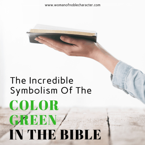 The Incredible Symbolism Of The COLOR GREEN IN THE BIBLE #1