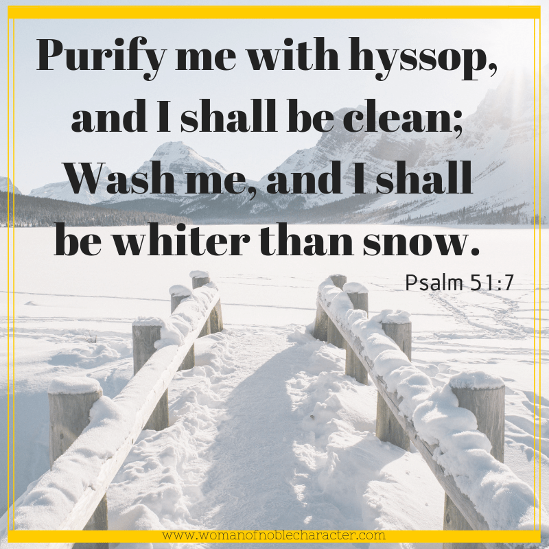 White in the Bible Psalm 51_7