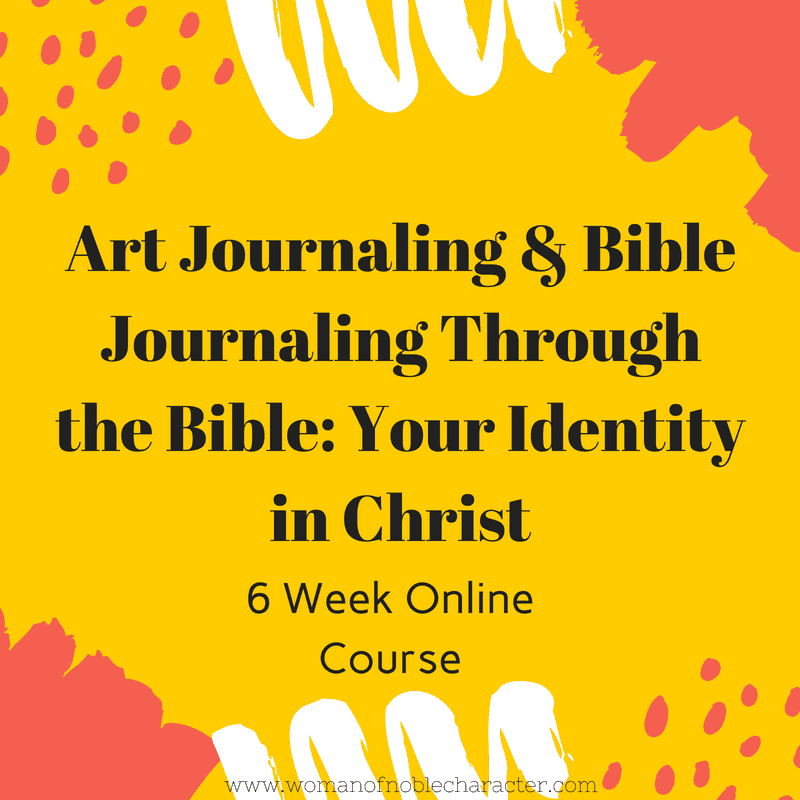 art journaling through the Bible your identity in Christ (1)