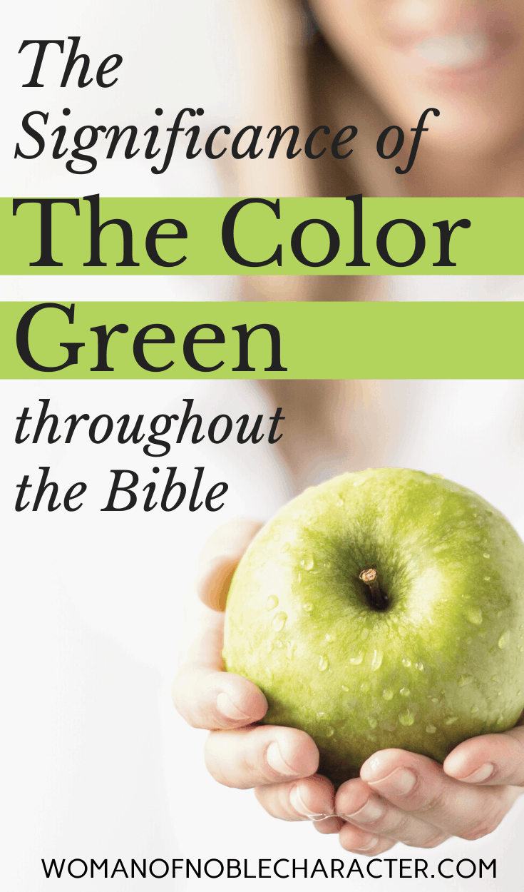 green in the Bible