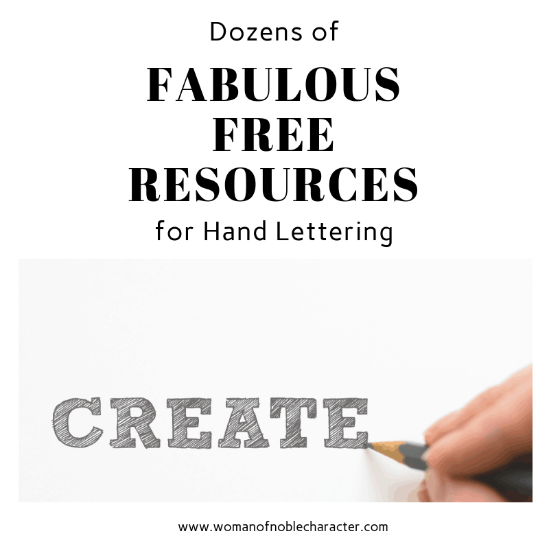 Dozens of Fabulous Free Resources for Hand Lettering #2