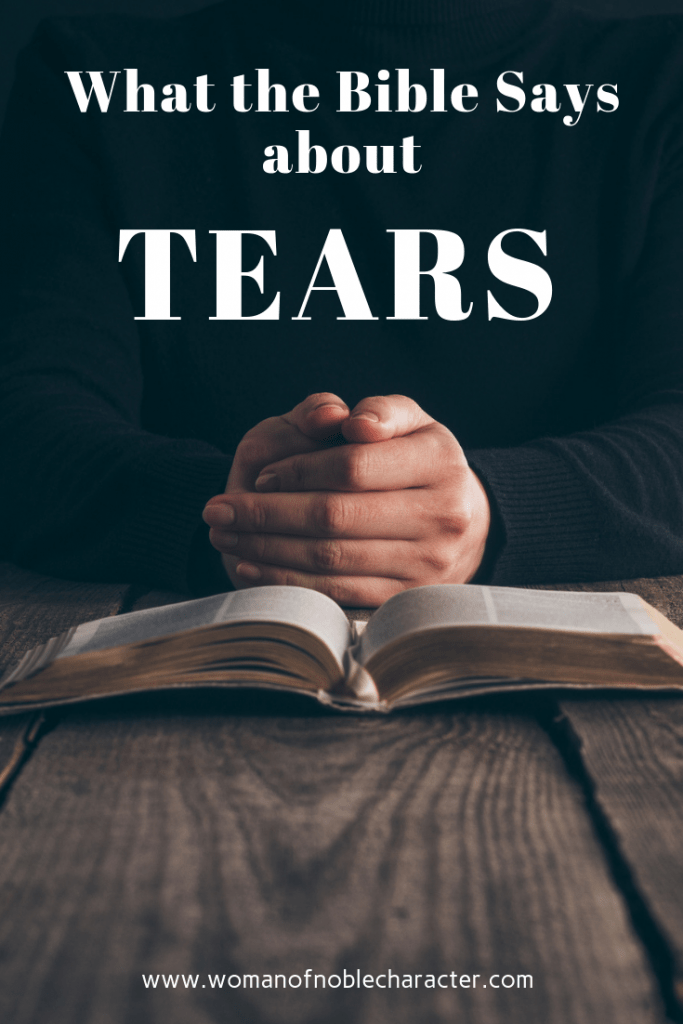 tears in the Bible