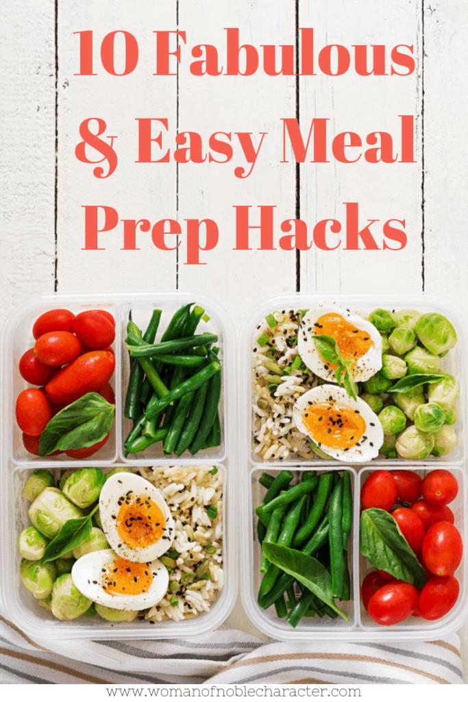 10 Fabulous Meal Prep Hacks To Save You Time Meal Prep Hacks