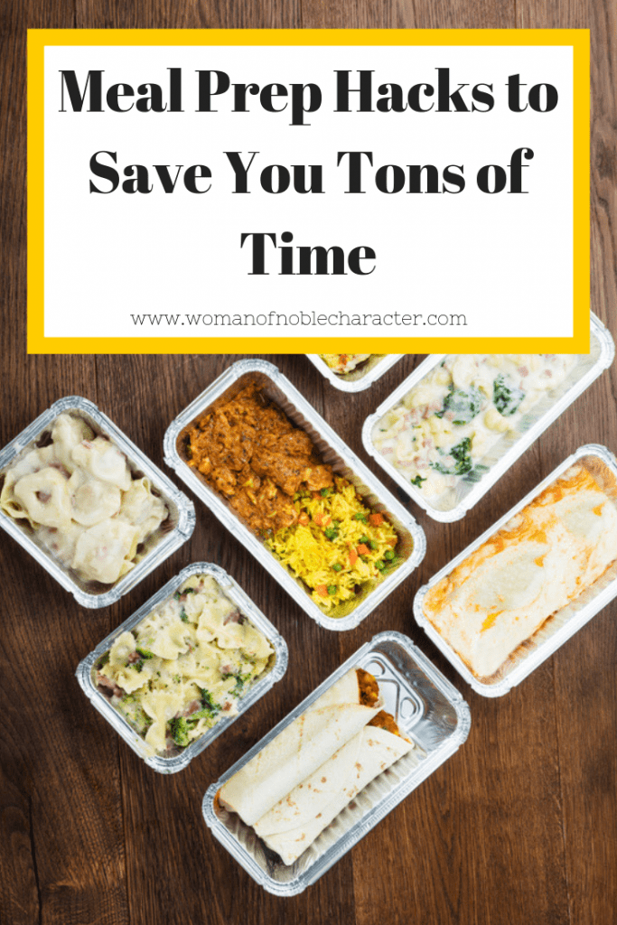 Meal Prep Hacks to Save You Tons of Time