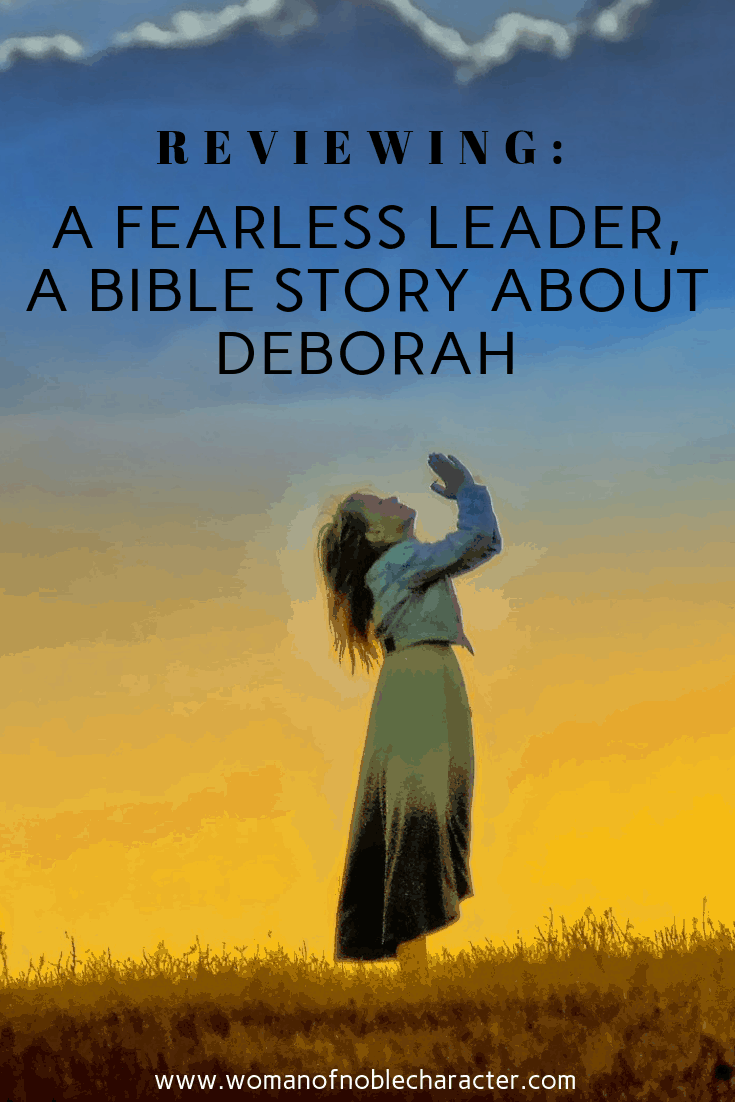Reviewing: A Fearless Leader, A Bible Story About Deborah