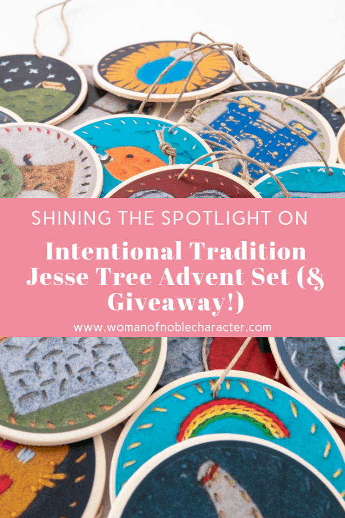 Shining the Spotlight on Intentional Tradition Jesse Tree Advent Set (& Giveaway!) 3