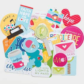 dayspring Bible journaling die cuts