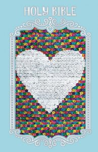 sparkle and change Bible cover rainbow