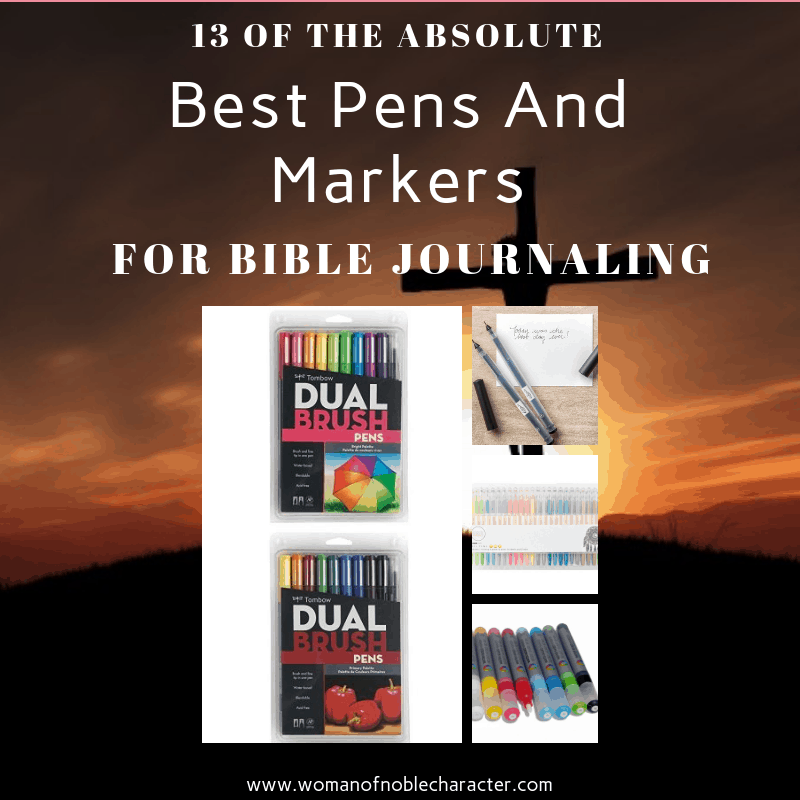 13 Of The Absolute Best Pens And Markers For Bible Journaling 5