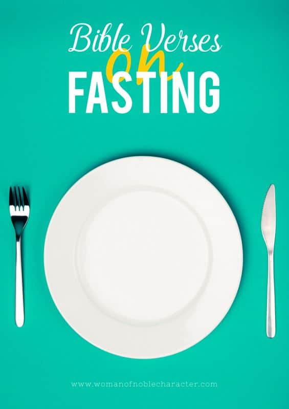 Bible verses about fasting printable