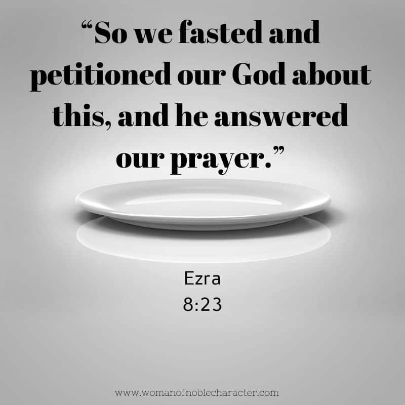 Fasting in the Bible Tips Scripture and How to Fast