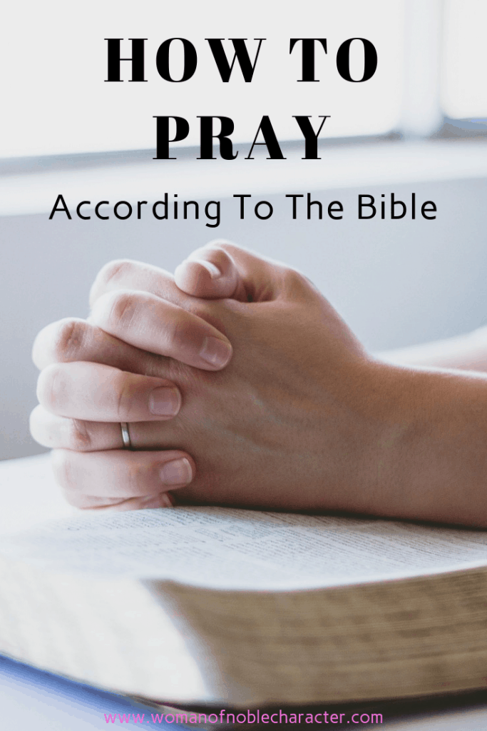 How To Pray According To The Bible 2