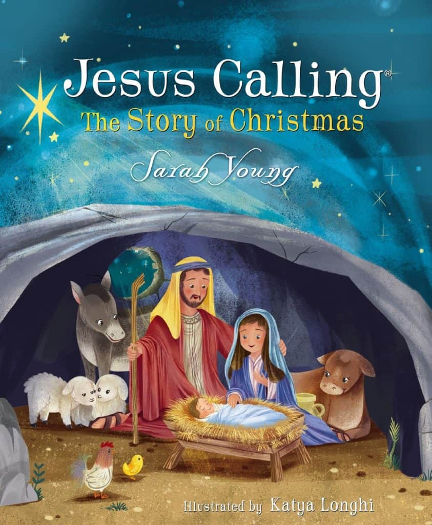 Jesus calling Christmas cover