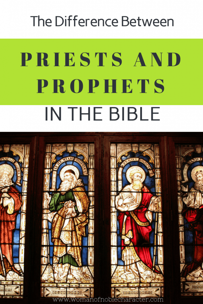 The Difference Between Priests and Prophets in the Bible