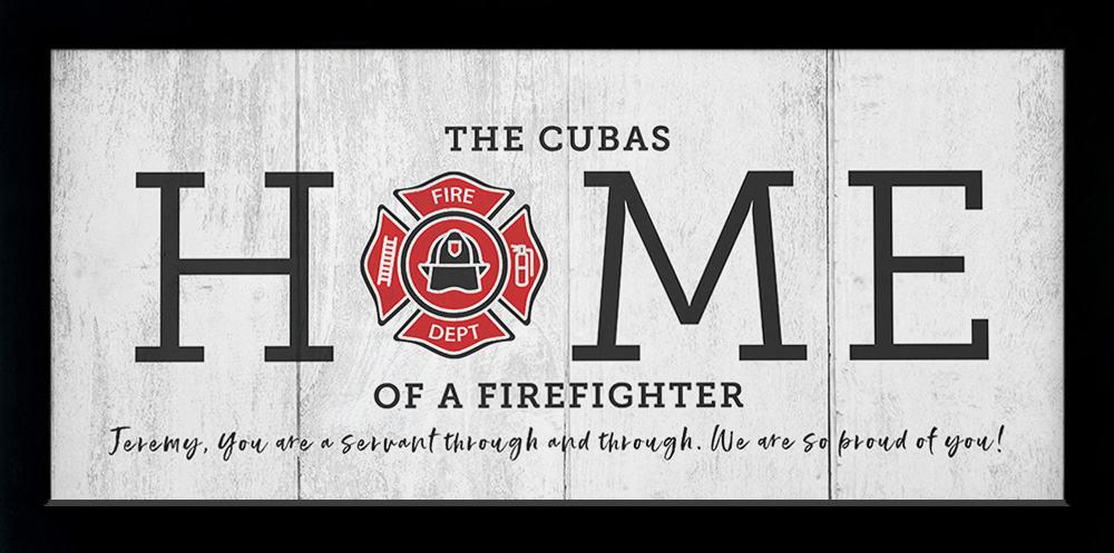 Artsy Olive firefighter