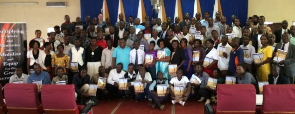 Training of leaders in Lilongwe, Malawi