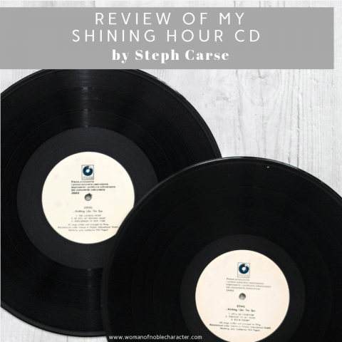 Review of My Shining Hour CD by Steph Carse 1