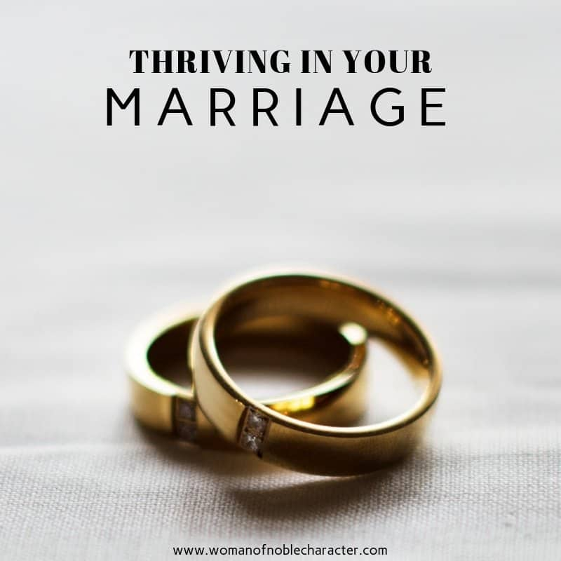 Thriving in Marriage