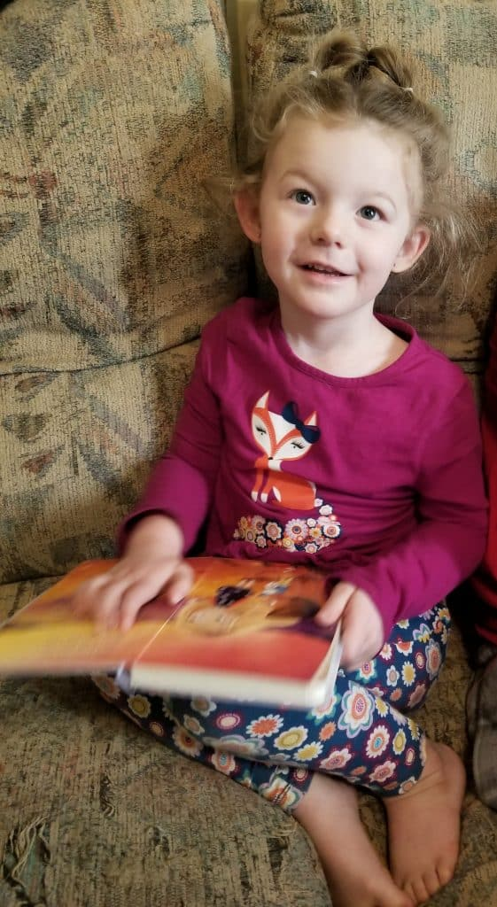 God, I Know You're There Book Read with Granddaughter