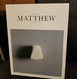 The Gospel of Matthew pictorial Bible Alabaster Co