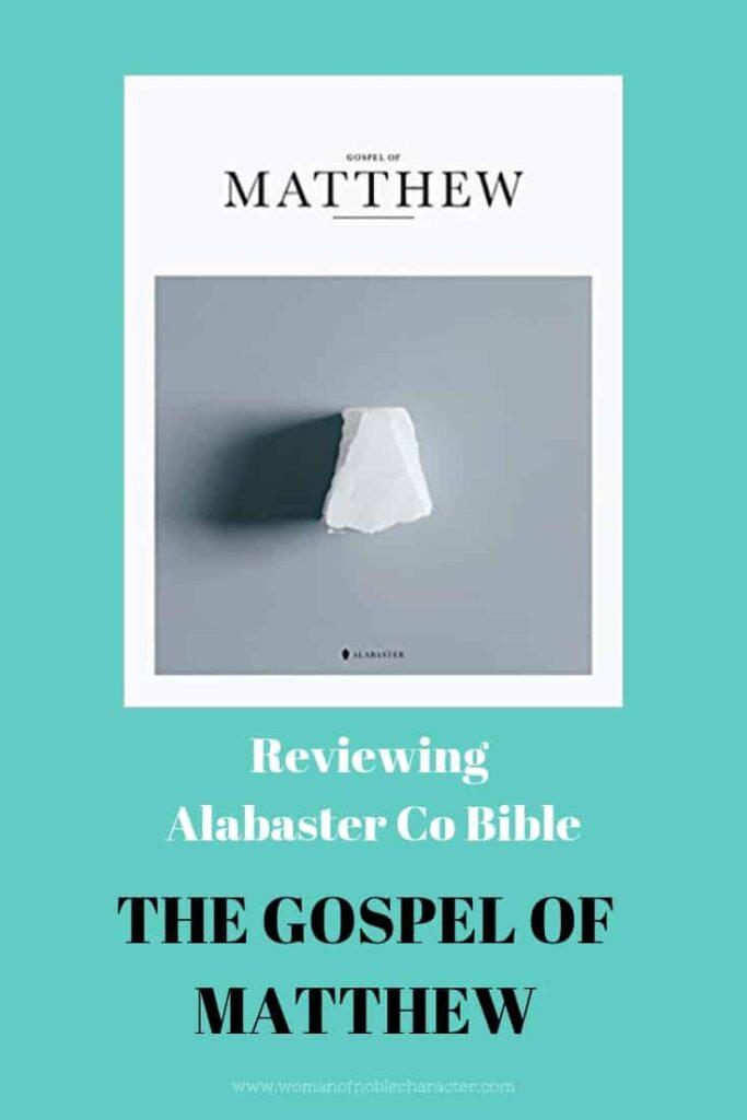 Book of Matthew Review Pin 2