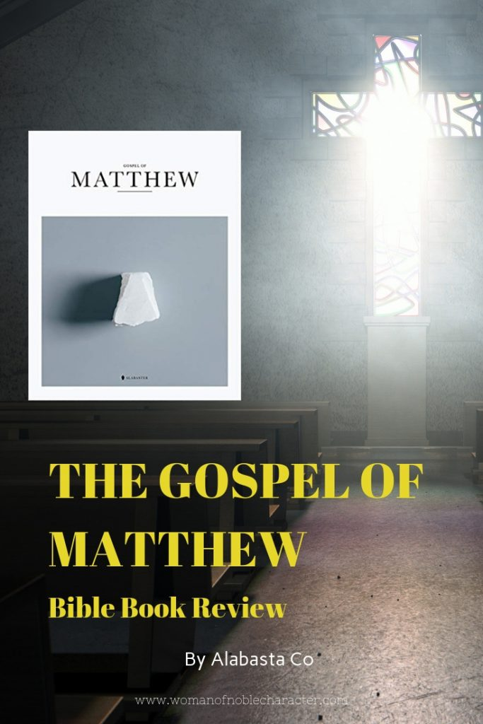 Book of Matthew Bible by Alabaster Co Review pin 5