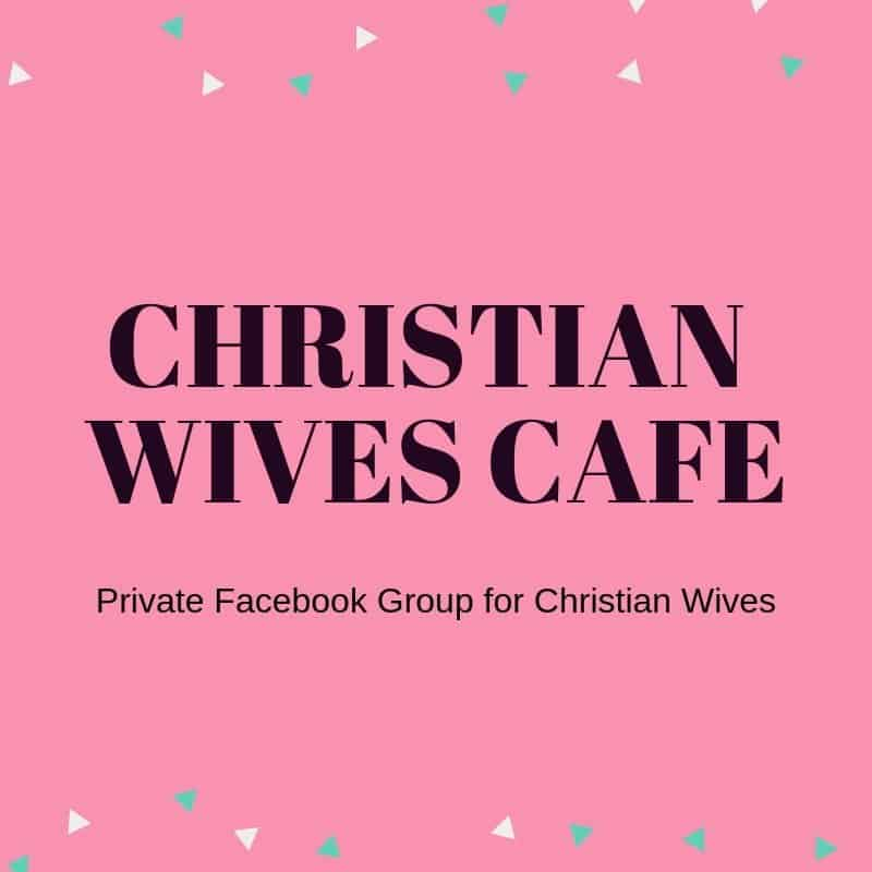 Private Facebook group for Christian wives